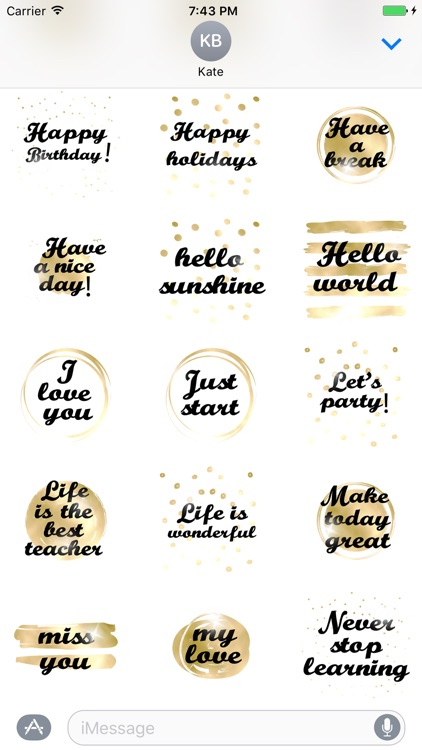 Think Positive animated Stickers screenshot-3