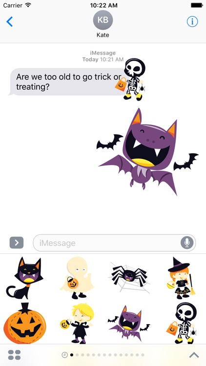 Halloween for Stickers