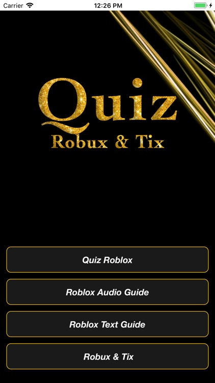 Quiz for Roblox + Guide & Tix by Abdelhamid El-Hasnaoui