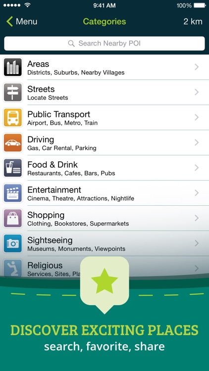 Pocket Earth PRO Offline Maps & Travel Guides screenshot-3
