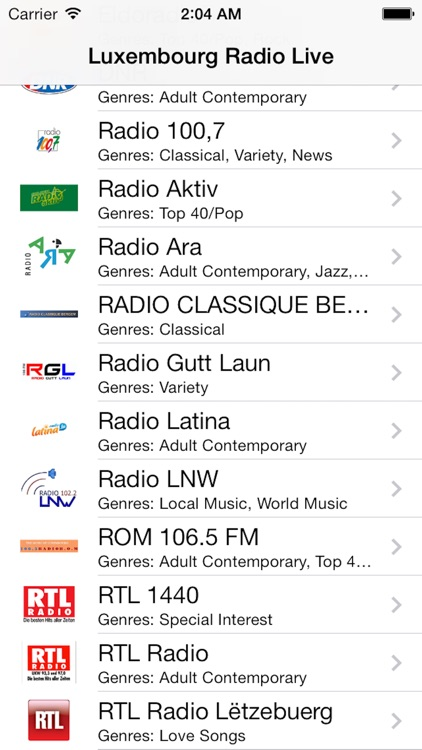 Luxembourg Radio Live Player (Lëtzebuerg)