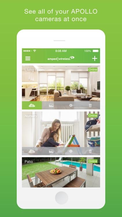 Amped Wireless APOLLO Camera App