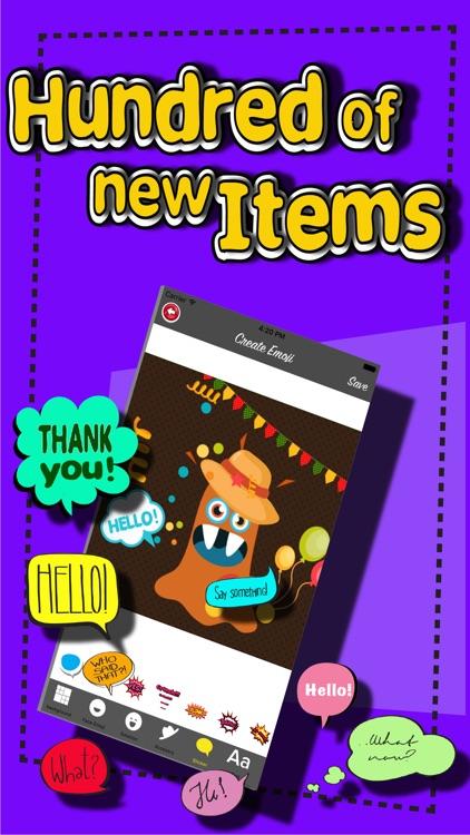Emoji Maker - Create funny avatars screenshot-4