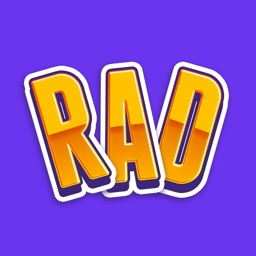Rad Stickers - Colorful stickers for iMessage