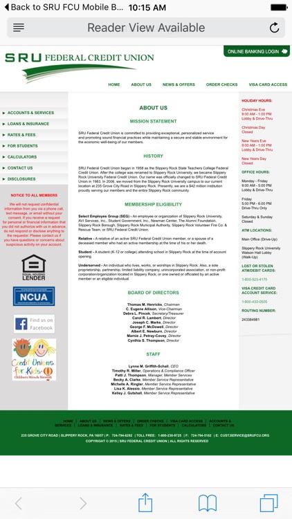 SRU FCU Mobile Banking screenshot-3