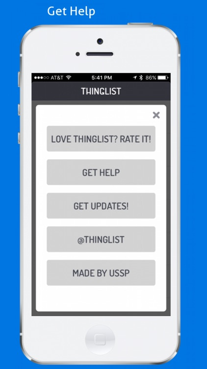 Thinglist screenshot-3