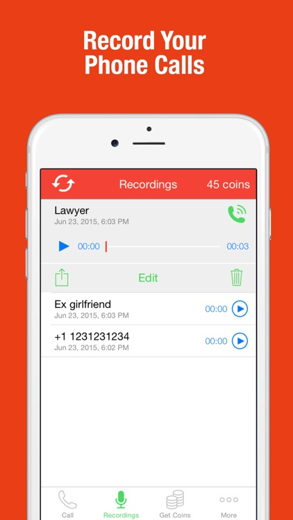 Call Recorder - Record Phone Conversations
