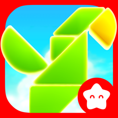 Shapes Builder - Tangram Puzzle for toddlers
