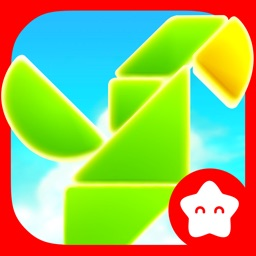 Shapes Builder - Educational tangram puzzle game for preschool children by Play Toddlers