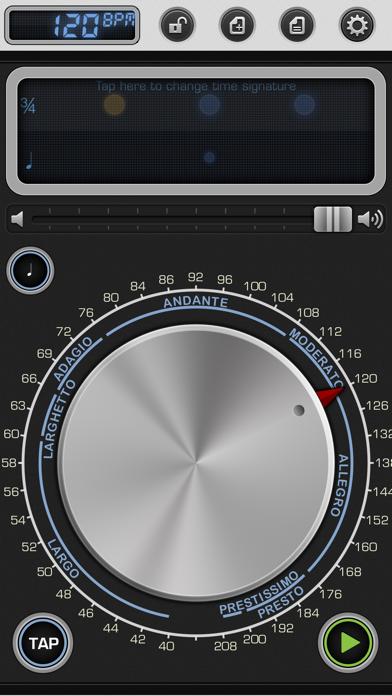 Screenshot #1 pour Metronome 9 - Tempo & Setlists