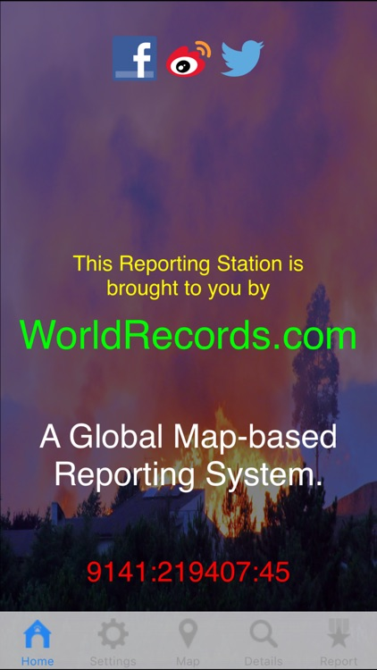 AMZO: a global map based system for reporting aliens, monsters, zombies and other interesting news and events
