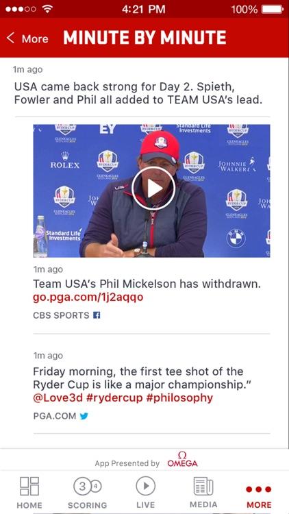 Ryder Cup 2016 – Hazeltine National Golf Club screenshot-4