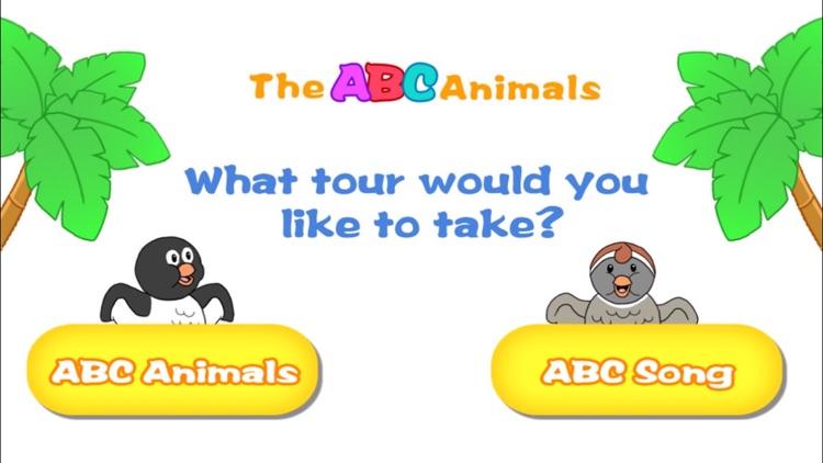 Alphabet ABC Song and Animals screenshot-4
