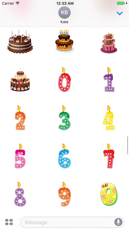 Birthday Gift Maker - Sticker