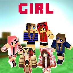 Best Girl Skins - Cute Skin for Minecraft PE & PC