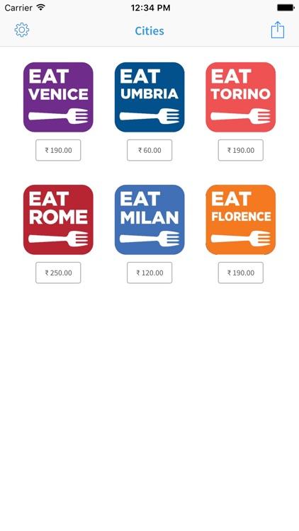 Eat Italy app image
