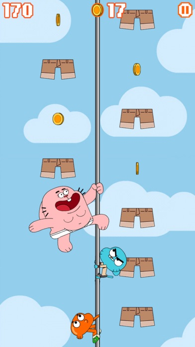 Sky Streaker - Gumball Climbing Arcade Game screenshot one