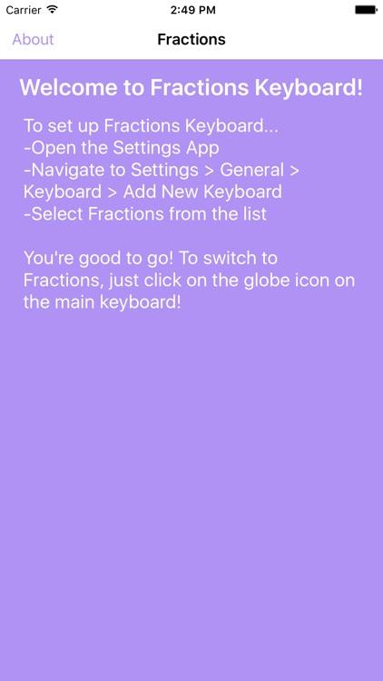 Fractions Keyboard screenshot-4