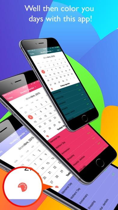 Color Calendar Pro screenshot1