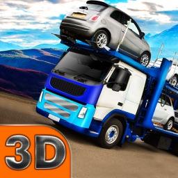 Car Transporter Offroad Driver 3D Full