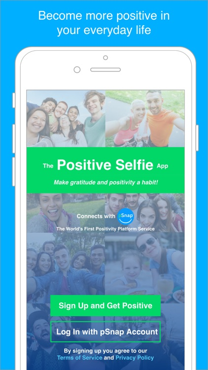 The Positive Selfie App