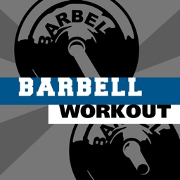 Barbell workout - training hiit wod & exercises trainer for abs arm leg
