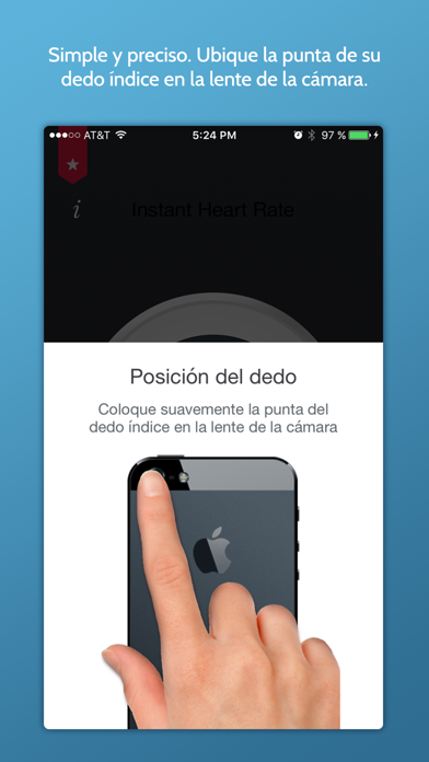 Screenshot for Ritmo Cardíaco Instantaneo+ in Argentina App Store