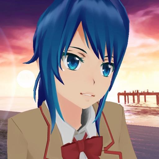 сакура - аниме девушка Запустить
