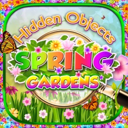 Hidden Object – Spring Gardens & Objects Time Easter Puzzle Differences Search Photo Game