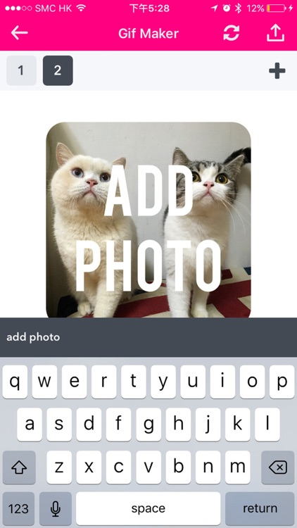Gif Maker - Create Gif Stickers & Video with Text, Emoji & Images screenshot-1