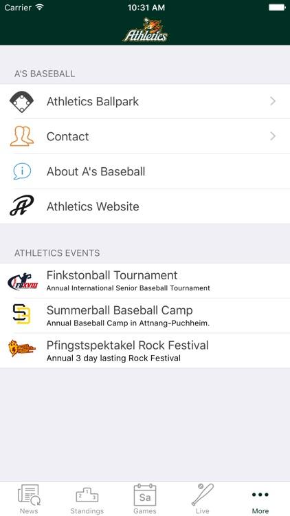 A's Baseball screenshot-3
