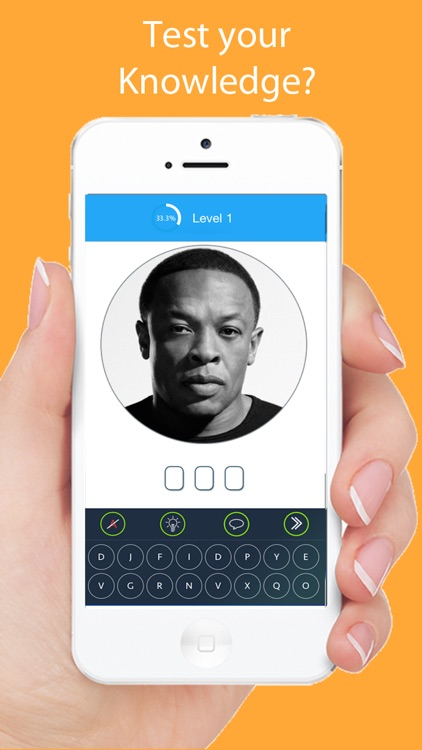 Celebrity Quiz Games - Guess.ing Hip Hop, Rap, Pop Music Singers and Actors screenshot-1