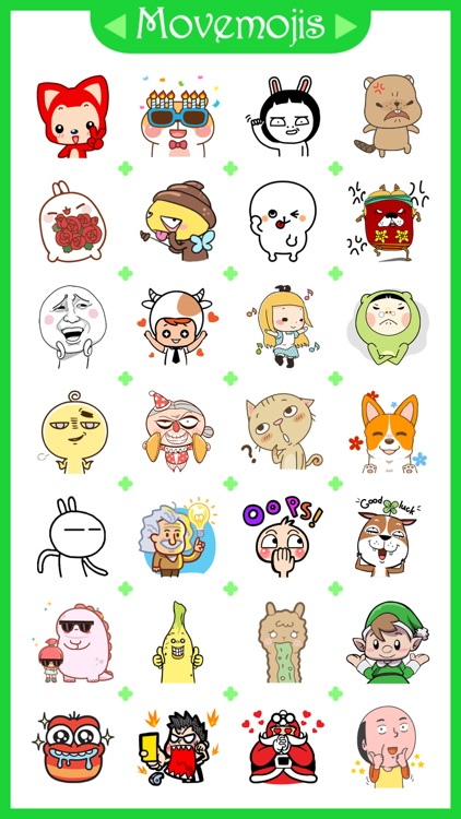 Movemojis - Animated Gifs Stickers for WhatsApp screenshot-0