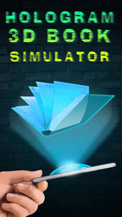 Hologram 3D Book Simulator