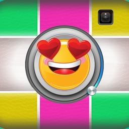 Vamoji Photo - Exclusive Valentine Picture With Emoji Stickers editor