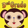 Splash Monkey Math School Free Games for 3rd Grade Kids