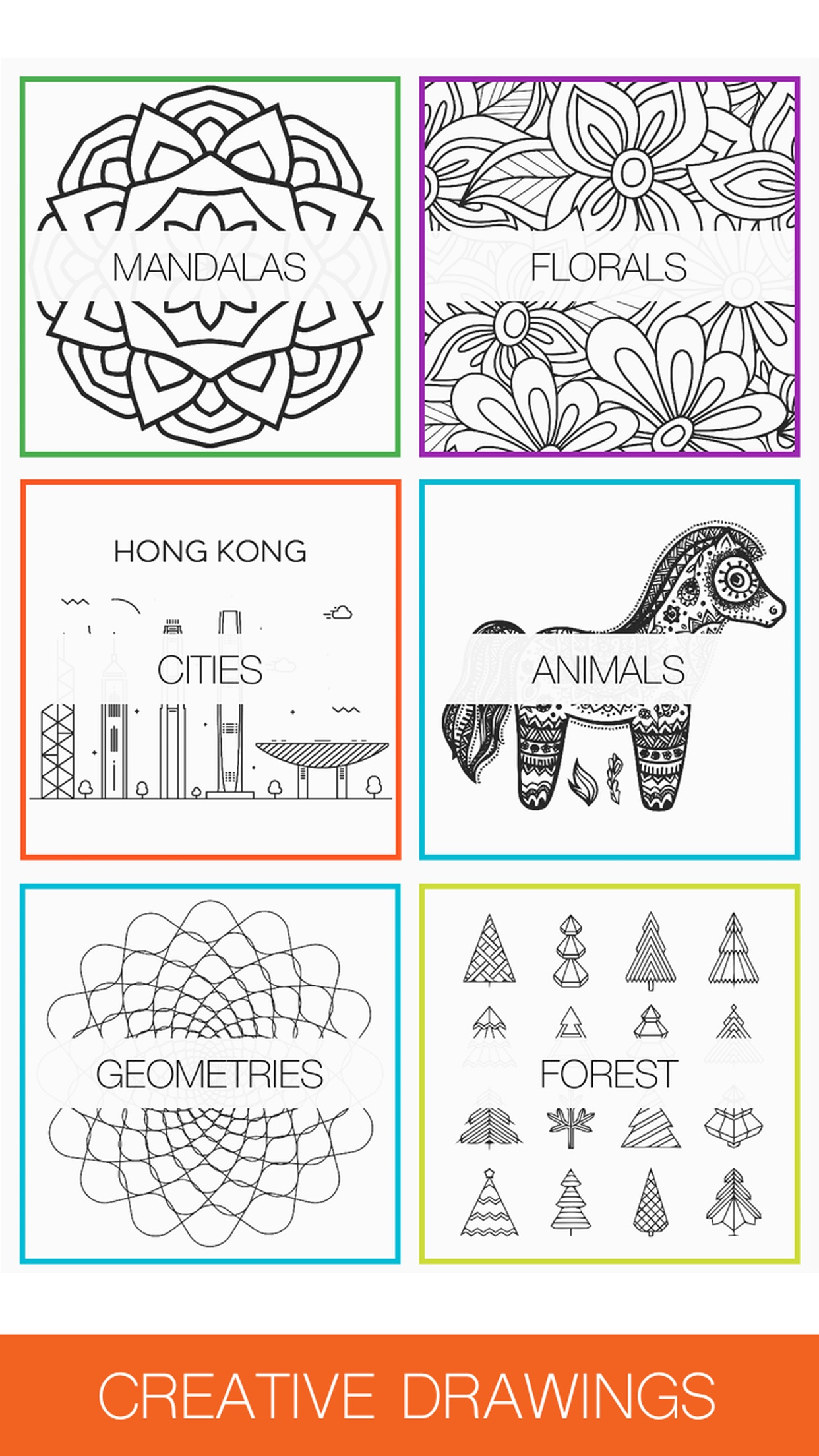 Colorme: Coloring Book for Adults Screenshot