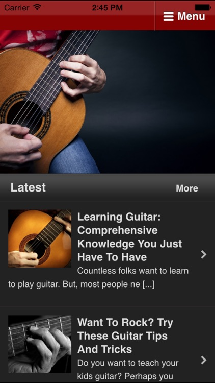 Guitar Lessons For Beginners - Learn to Play Guitar screenshot-0