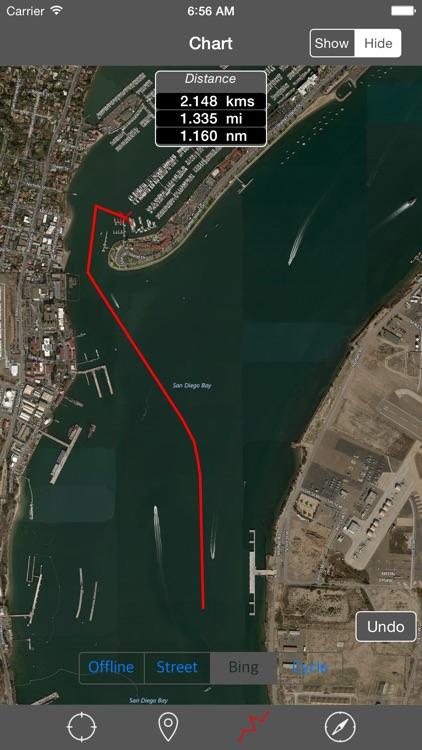 San Diego Bay (California) – Raster Nautical Charts
