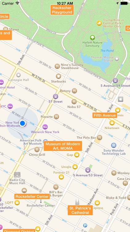 NYC Tourist Map - Travel Map for New York City screenshot-4