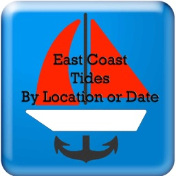 East Coast Tides Hi-Low by Date and Location