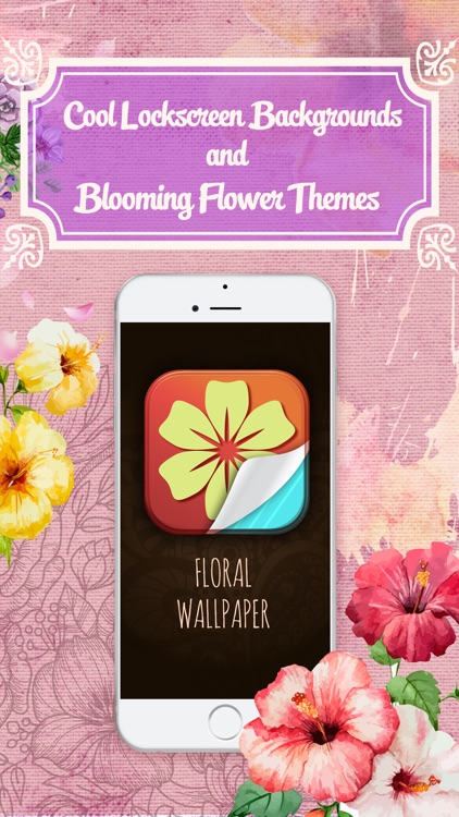 Hd Floral Wallpaper Cool Lockscreen Backgrounds And