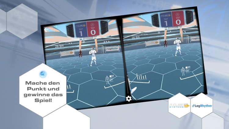 Cyber Security Soccer VR