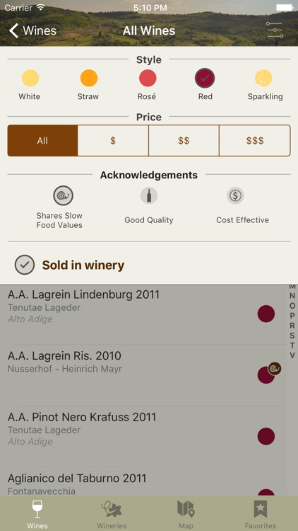 Slow Wine 2016 - The Wine Guide by Slow Food screenshot-1