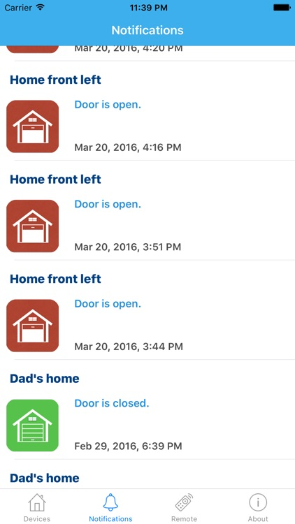 GarageDoorBuddy Monitor screenshot-2