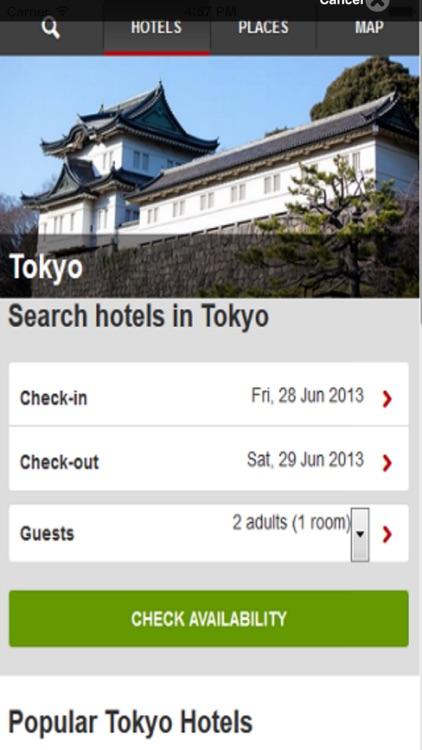 Tokyo Hotels & Maps