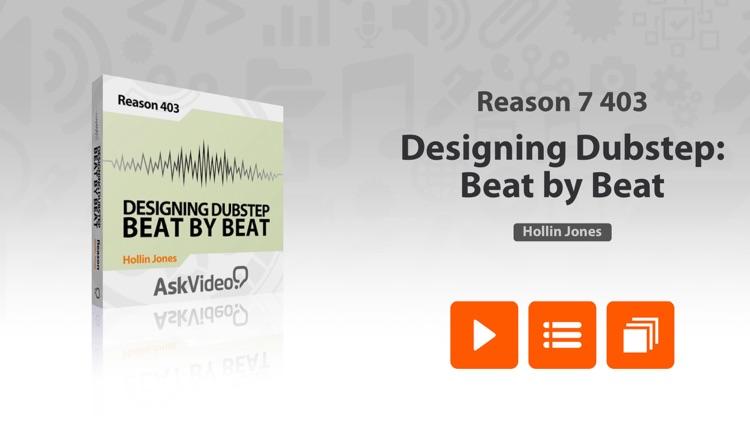 Dubstep Design Course For Reason