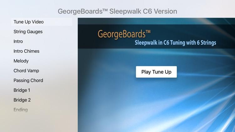 C6 Lap Steel Guitar Sleepwalk TV for Apple TV by Pamela Piburn