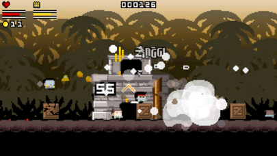 Screenshot from Gunslugs