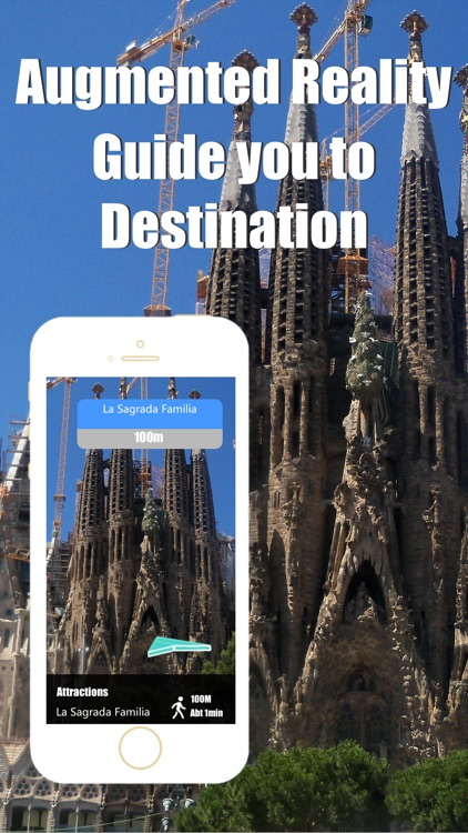Barcelona travel guide with offline map and España metro transit by BeetleTrip
